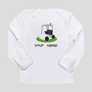 Golf Cart Gift For Golfer Long Sleeve Infant T-Shi