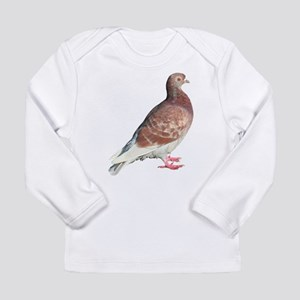 Red Pigeon (Isolated) Long Sleeve T-Shirt