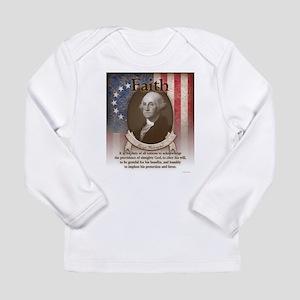 George Washington - Faith Long Sleeve T-Shirt