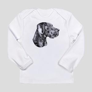 Great Dane HS Blue UC Long Sleeve Infant T-Shirt