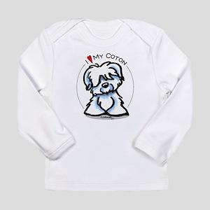Love my Coton Long Sleeve Infant T-Shirt