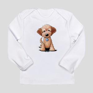 KiniArt Goldendoodle Pu Long Sleeve Infant T-Shirt