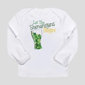Shenanigans Long Sleeve Infant T-Shirt