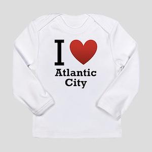 I Love Atlantic City Long Sleeve Infant T-Shirt