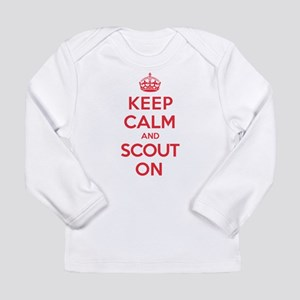 Keep Calm Scout Long Sleeve Infant T-Shirt