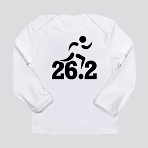 26.2 miles marathon Long Sleeve Infant T-Shirt