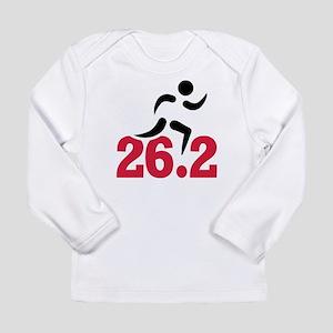 26.2 miles marathon run Long Sleeve Infant T-Shirt