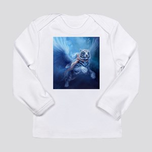 fairy and flying tiger Long Sleeve T-Shirt