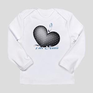 I Heart Tar Heels Long Sleeve Infant T-Shirt