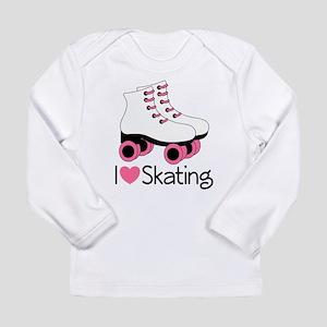 I Love Skating Long Sleeve Infant T-Shirt