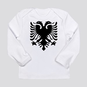 Albanian Eagle Long Sleeve Infant T-Shirt