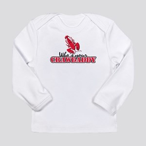 Whos ur Crawdaddy Long Sleeve Infant T-Shirt