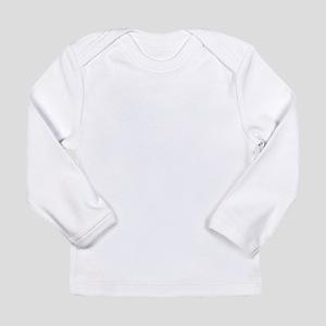 Vintage Black Fleur De Lis Long Sleeve T-Shirt
