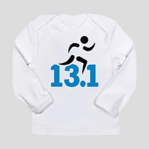 Half marathon 13.1 mile Long Sleeve Infant T-Shirt