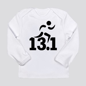 Half marathon runner Long Sleeve Infant T-Shirt