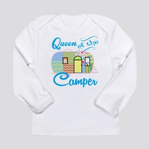 Queen of the Camper Long Sleeve T-Shirt