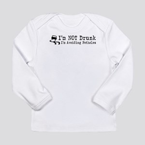 Drunk Potholes Long Sleeve Infant T-Shirt
