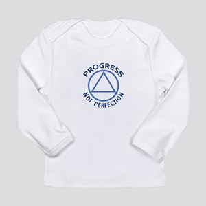 PROGRESS NOT PERFECTION Long Sleeve T-Shirt
