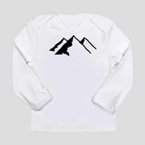 Mountains Long Sleeve Infant T-Shirt