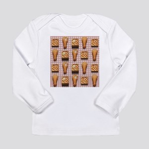 gingham chicken waffles Long Sleeve T-Shirt