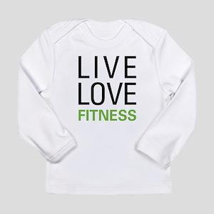 Live Love Fitness Long Sleeve Infant T-Shirt