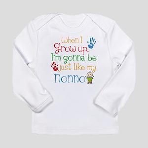 Just Like Nonno Long Sleeve Infant T-Shirt