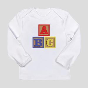 ABC Blocks Long Sleeve T-Shirt