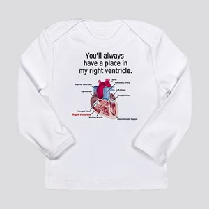 My Right Ventricle Long Sleeve T-Shirt