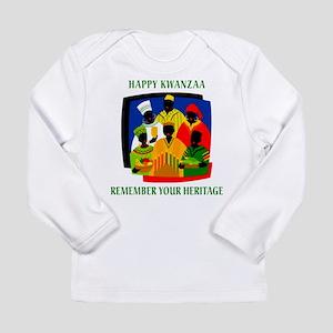 Happy Kwanzaa Long Sleeve T-Shirt