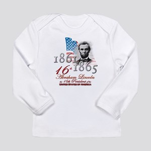 16th President - Long Sleeve Infant T-Shirt