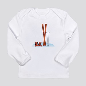 Ski Gear Long Sleeve T-Shirt