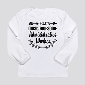 World's Most Awesome Ad Long Sleeve Infant T-Shirt