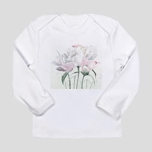 Beautiful Peony Long Sleeve T-Shirt