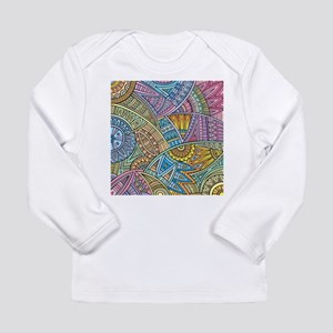 Colorful Abstract Long Sleeve T-Shirt