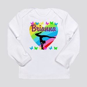 PERSONALIZE GYMNAST Long Sleeve Infant T-Shirt