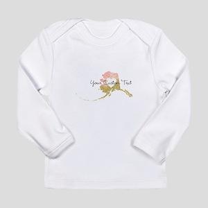 Personalized Alaska State Long Sleeve T-Shirt