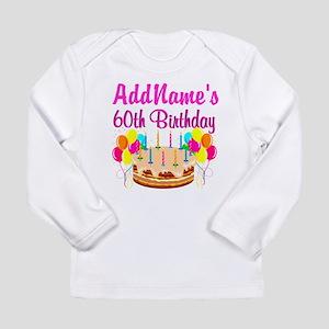 AMAZING 60TH Long Sleeve Infant T-Shirt