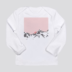 Mountain Sunrise Long Sleeve T-Shirt