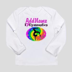 GYMNAST STAR Long Sleeve Infant T-Shirt