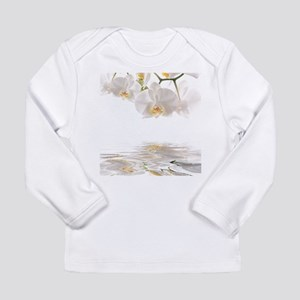 Orchids Reflection Long Sleeve T-Shirt