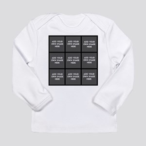 Add Your Own Images Collage Long Sleeve T-Shirt