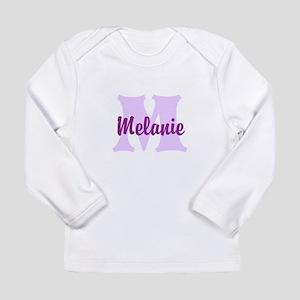 CUSTOM Lilac Purple Monogram Long Sleeve T-Shirt