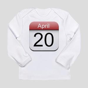 4:20 Date Long Sleeve Infant T-Shirt