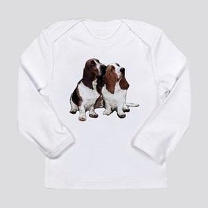 Basset Hounds Long Sleeve Infant T-Shirt