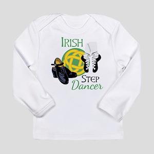 IRISH STEP Dancer Long Sleeve T-Shirt