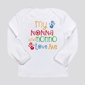 Nonna and Nonno Love Me Long Sleeve T-Shirt