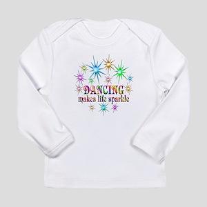 Dancing Sparkles Long Sleeve Infant T-Shirt