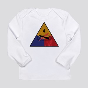 4th Armored Division Vintage Long Sleeve Infant T-