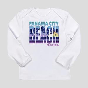 Panama City Beach Long Sleeve Infant T-Shirt