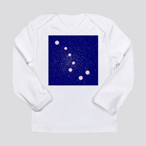 The Big Dipper Constellation Long Sleeve T-Shirt